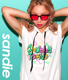 CHUBBY TOKYOフーディーワンピース