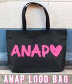 『ANAP』ロゴ トートバッグ