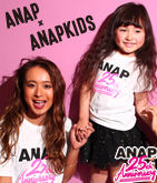 ANAP 25th Anniversary キッズTシャツ