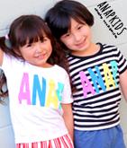 カラフルロゴTシャツ