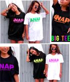 『ANAP』ネオンカラーロゴTシャツ