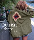 刺繍デザインオーバージャケット
