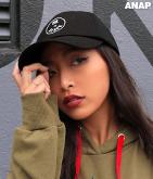サークルロゴ刺繍CAP