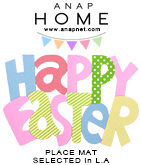 「Happy Easter」ランチョンマット
