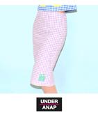 ギンガムチェック『UANP』ロゴペンシルスカート(別売りSETUP)