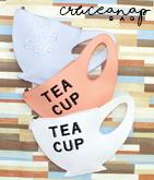 TEA CUPクラッチバッグ