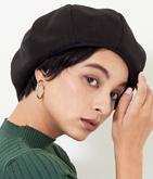 メルトンボリューミーベレー帽