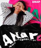 『ANAP』ロゴリップブランケット
