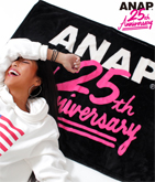 ANAP 25th ロゴブランケット