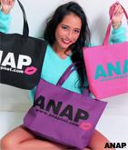 『ANAP』ロゴリップトートバッグ