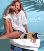 SURF&WAVEデザインフーディトップス