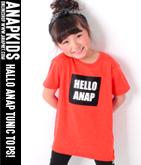 HELLO ANAP BIG-Tシャツ