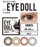 カラコン:EYE DOLL BY LILMOON (1箱1枚/マンスリー)【度あり】