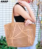 カットワークデザインバッグ
