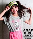 GIRLメッセージフォトTシャツ