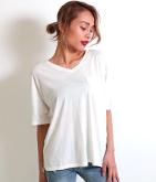 1ポケットオパール加工Tシャツ