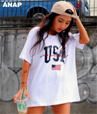 USAプリントBIG Tシャツ