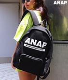 『ANAP』ロゴスウェットリュック