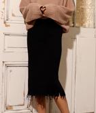●ダメージニットタイトスカート