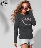 RUSTY レディース L/S Tシャツ