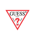 [GUESS x Hello Kitty] TRIANGLE LOGO CANVAS 6PANEL CAP