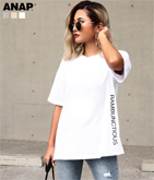 サイドプリントゆるTシャツ