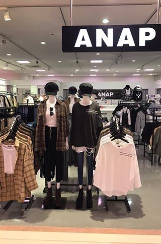 ANAP 横浜ワールドポーターズ店